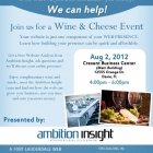Wine and Cheese Event Flyer