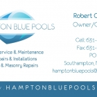 Hampton Blue Pools Business Card