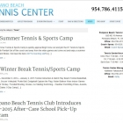 Pompano Beach Tennis Center News