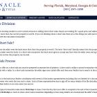 Short Sale Division Page