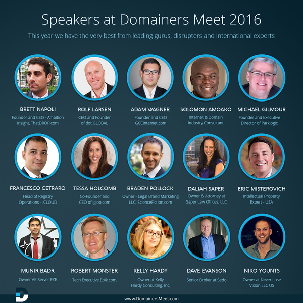 Brett Napoli Speaking at Domainers Meet Conference in Dubai