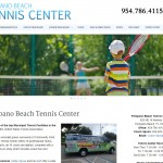 Pompano Beach Tennis Center WordPress Website