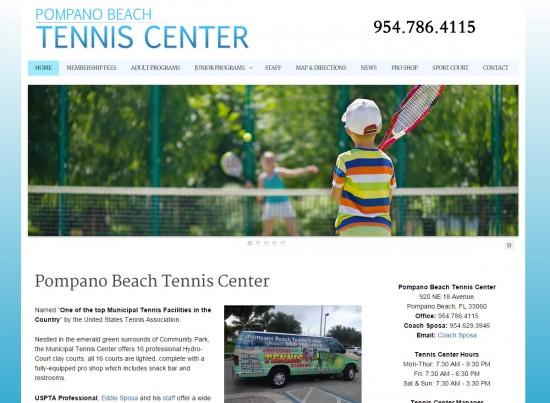 Pompano Beach Tennis Center
