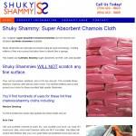 Shuky Shammy Custom WordPress Website