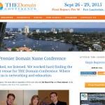 The Domain Conference Fort Lauderdale WordPress Website Development